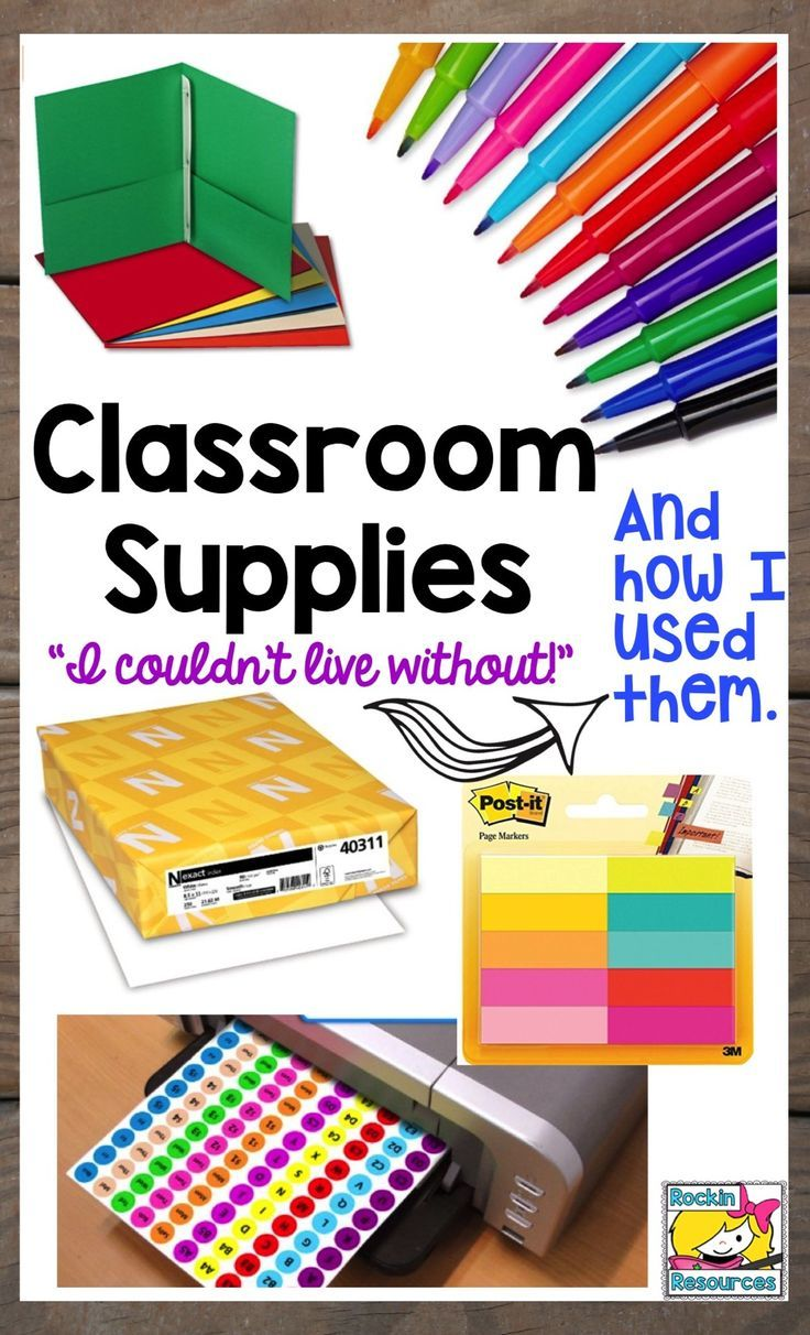 Find awesome ideas to organize and use these classroom supplies.  I found them incredibly useful in my class so I share how I used them in writing workshop, reading lessons, book organization, and how to keep lasting posters, and task cards.