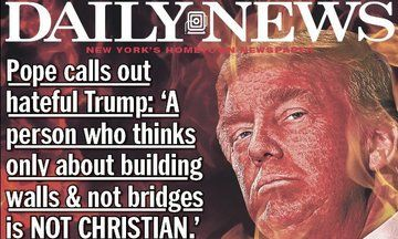 NYDN Bedevils Trump With Fiery 'Anti Christ' Cover