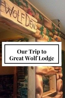 Check out our Trip to Great Wolf Lodge in Mason, Ohio