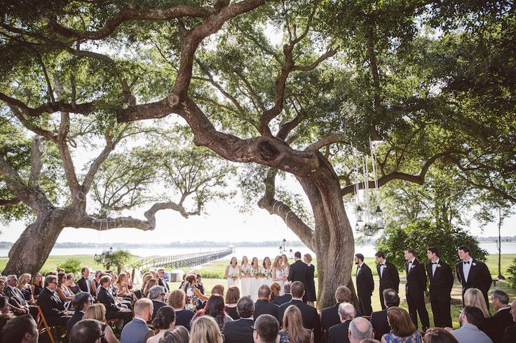 Courtney & Richard's Lowndes Grove Plantation Wedding | Charleston, SC | PPHG Events | Photo by Amelia & Dan Photography