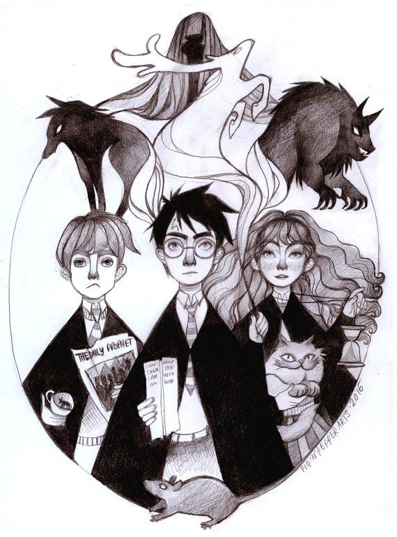 Harry Potter and the Prisoner of Azkaban by PigandPepperArts