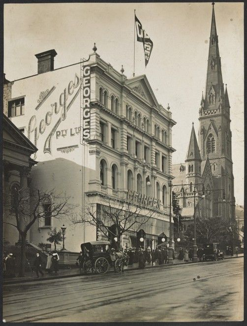 Melbourne's Forgotten Department Stores
