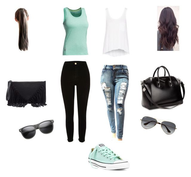 """""""Mint theme"""" by andrea-levander on Polyvore featuring Converse, Givenchy, Sole Society, Icebreaker, rag & bone and Ray-Ban"""