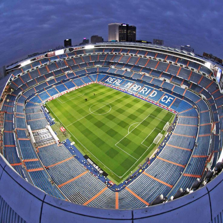 Santiago Bernabeu stadium. Madrid Spain. Real Madrid C.F. ❤️⚽️