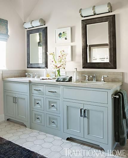 25 best ideas about gray bathroom vanities on pinterest grey bathroom vanity grey framed - Change your old bathroom to traditional bathrooms ...