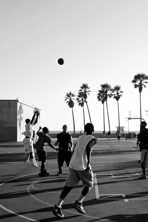 Basketball in the streets...