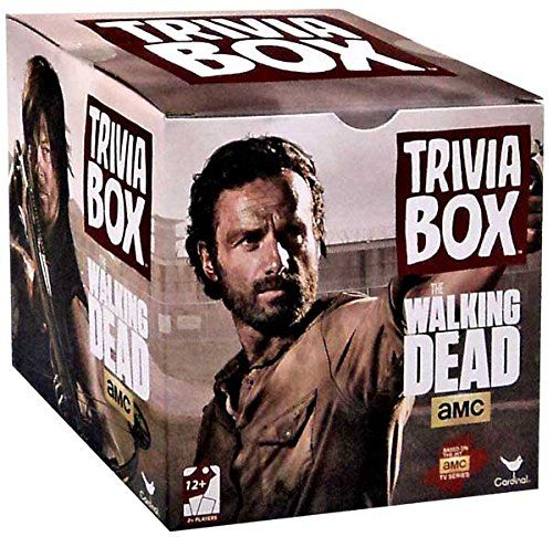 Top 99 Gift Ideas for The Walking Dead Fans   Gifts For Gamers & Geeks - TWD Trivia Box