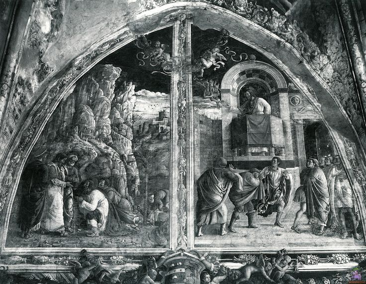 Scenes from the Life of St.James by @artistmantegna #earlyrenaissance