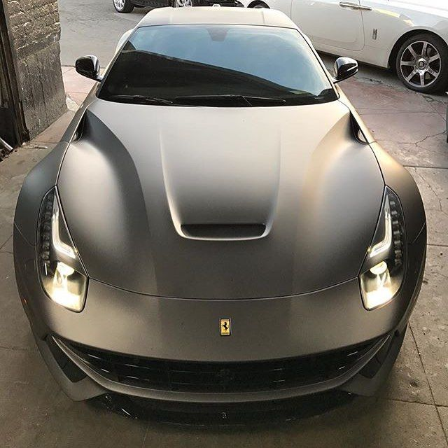 Gray F12! Photo via: @platinum group Second page: @M85Media Other page: @StancedAutohaus #AmazingCars247 #followback#cars #speed #L4L #driver