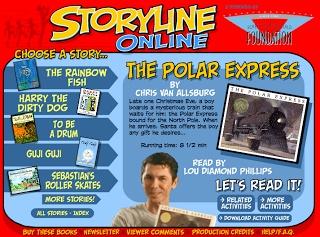 Kleinspiration: Storyline Online brings you The Polar Express