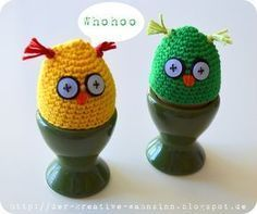 Der kreative Wahnsinn: Anleitung für die Eierwärmer