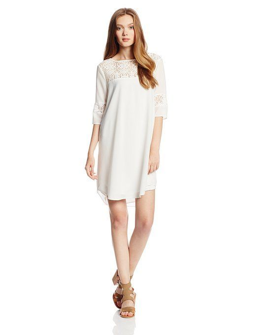 BB Dakota Womens Devera Lace Inset Dress is on sale now for - 25 % !