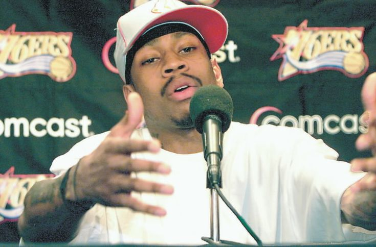 We talkin' 'bout practice, man! We're not even talkin' 'bout the game. We talkin' 'bout practice!   - Allen Iverson, May 2002.