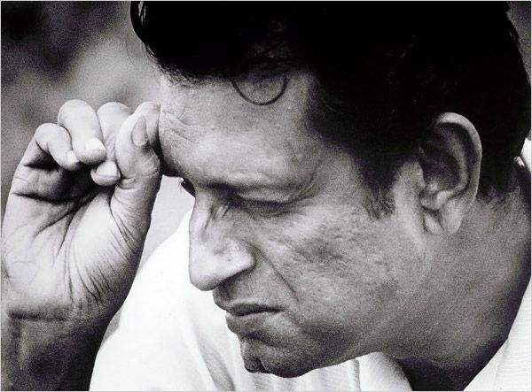 The man who made me fall in love with cinema- Satyajit Ray.