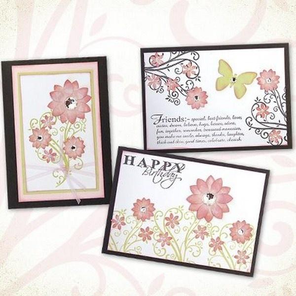 Blush Flower Vine Card Workshop. Kaszazz 2 Hour Workshop.