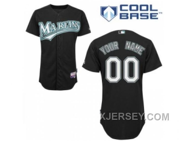 http://www.xjersey.com/new-arrival-customized-florida-marlins-jersey-black-home-cool-base-baseball.html NEW ARRIVAL CUSTOMIZED FLORIDA MARLINS JERSEY BLACK HOME COOL BASE BASEBALL Only $75.00 , Free Shipping!