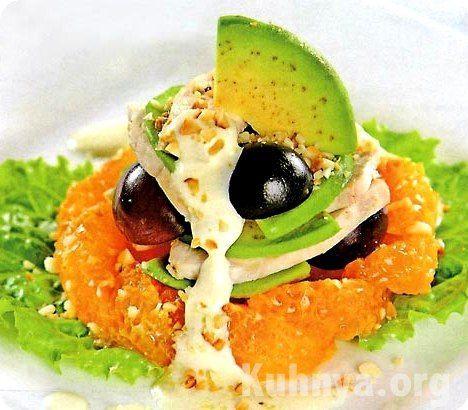Авокадо тунец салат рецепт