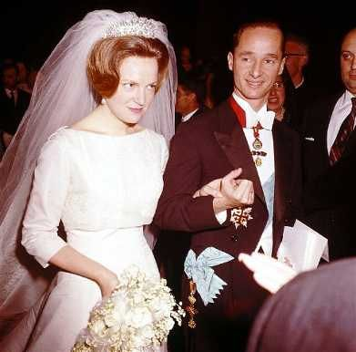 Irene of the Netherlands (Born 1939). Daughter of Queen Juliana and Prince Bernhard. She married Carlos Hugo, Duke of Parma, and had four children. They divorced in 1981.
