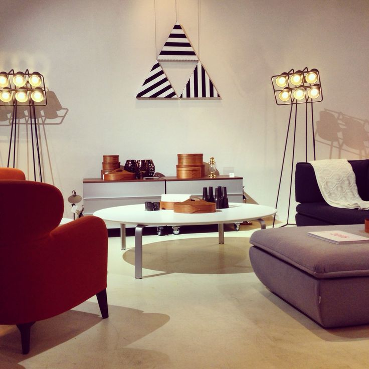 My favourite part of our showroom at the moment combines burnt orange tones with warm greys, which are brought to life with crisp black and white stripes and sculptural details.  #definingyourspace #interiordesign #interiordecor #furniture #depadova #seletti #interiorinspiration #interiorinspo #italiandesign #design #albereta