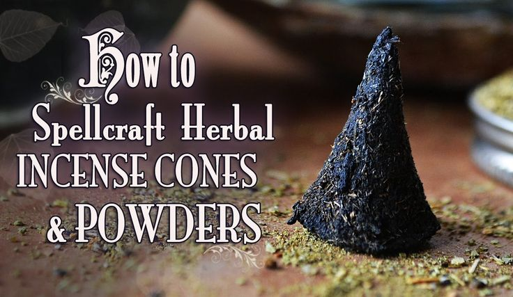 How To Make & Spellcraft Herbal Incense Cones & Powders ~The White Witch... aromatherapy, loose incense, how to, book of shadows, magick, wicca, working with herbs, resins, essential oils, spiritual, ritual, meditation, spells, incense, all natural