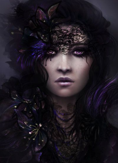 The Girl with Amethyst Eyes: Tears Won't Fade by BrookeGillette on deviantART