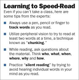 Learn to speed read