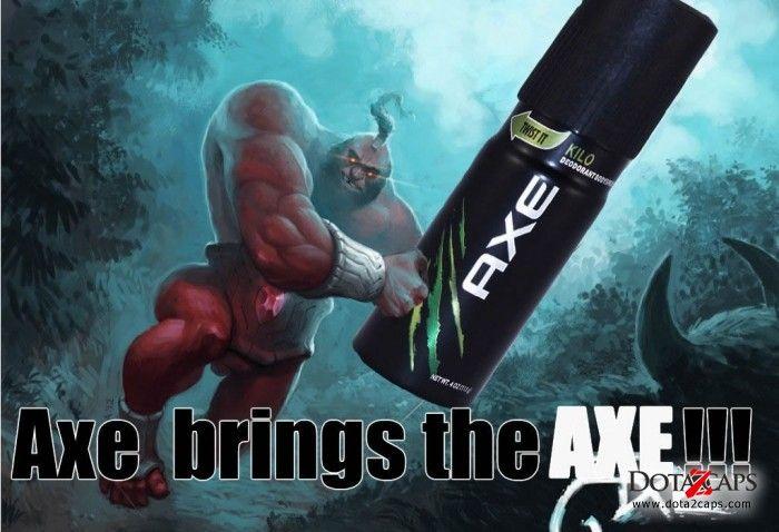 Axe brings the AXE