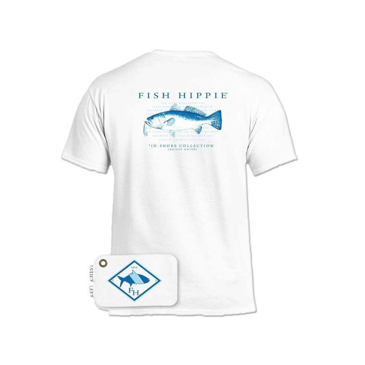 Fish Hippie Men's In-Shore Collection Tee