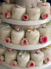 Rose Butterflies Cupcakes By Mich Turner
