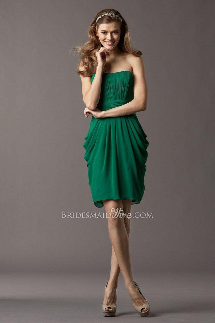 15 besten Green Bridesmaid Dresses Bilder auf Pinterest   Grüne ...