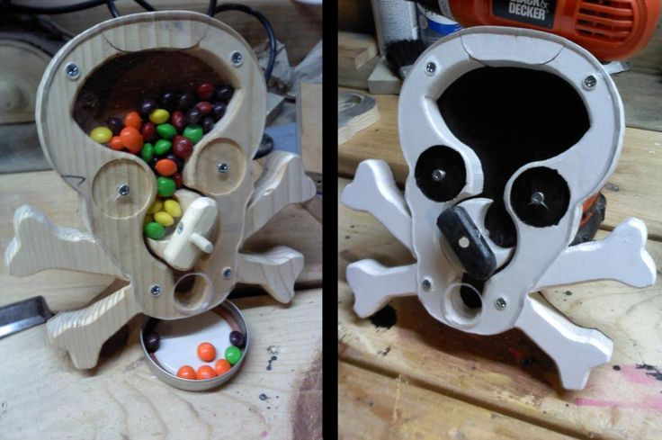 Woodworking For Mere Mortals Make A Candy Dispenser Ks3