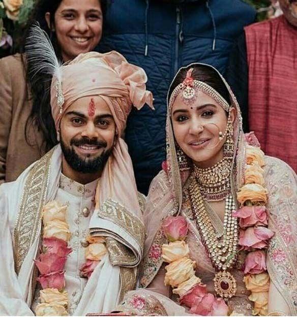 Virat Kohli And Anushka Sharma On Wedding Day Inspiration