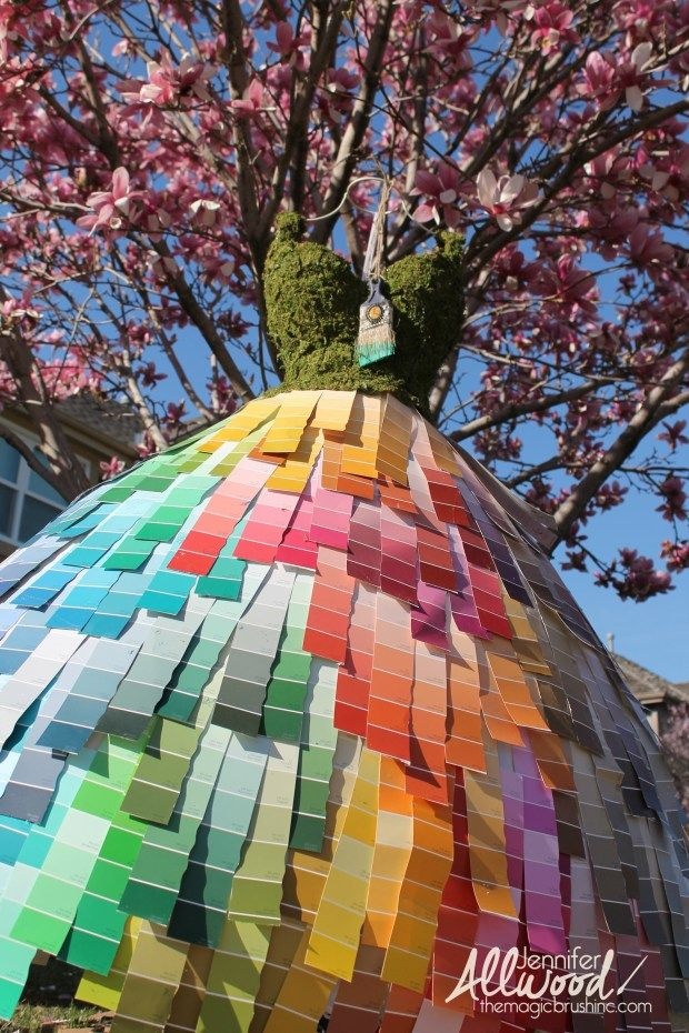 Cool Art Sculptures With Paint Chips