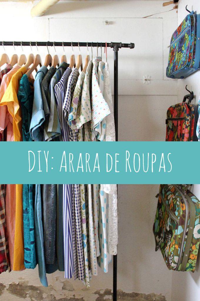 DIY: Arara de roupas - Comprando meu APê!