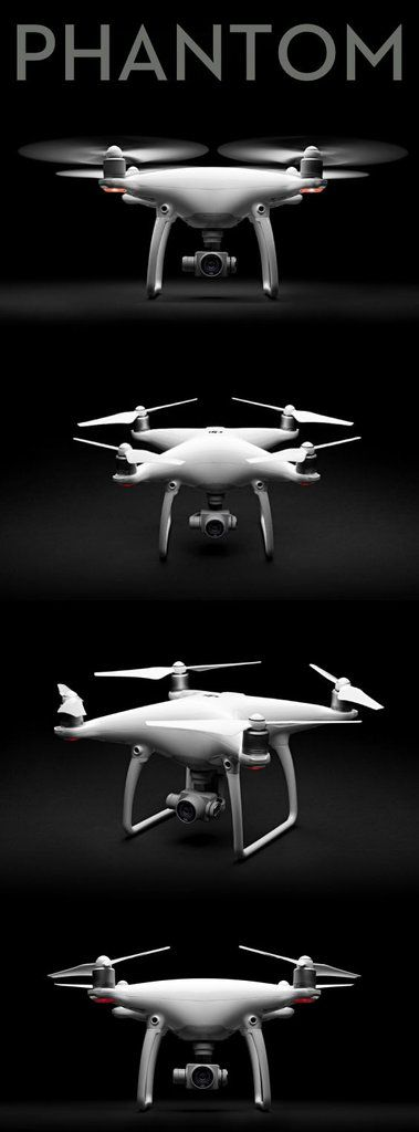 DJI Phantom 4 Quadcopter The DJI Phantom 4 is the smartest flying camera DJI has ever created. Able to fly intelligently with a tap, automatically create seamless tracking shots, fly intelligently ove