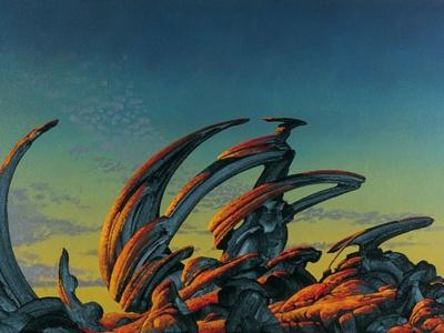 Roger Dean a big influence on me as an artist