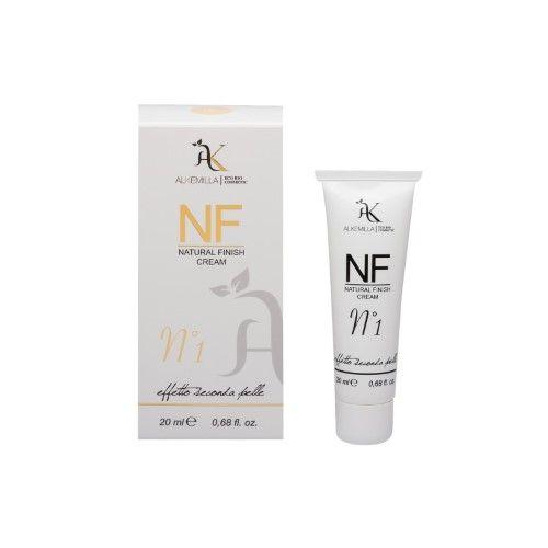 NF CreamAlkemilla èil fondotinta trasformista: bianco come una crema, ma a contatto con la pelle si colora. Idratante e lenitivo. In 3 tonalità. www.naturalsoul.it