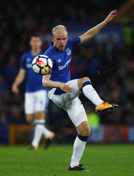 Davy Klaassen of Everton in action during the UEFA Europa League Third Qualifying Round, First Leg match between Everton and MFK Ruzomberok at Goodison Park on July 27, 2017 in Liverpool, England.