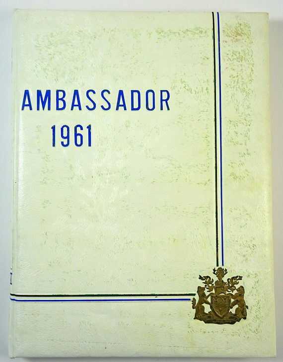 Vintage yearbook from the Assumption University of Windsor 1961 (Ontario, Canada). Cool school photographs throughout. A great historical resource or nostalgic find!  #adoredblessings