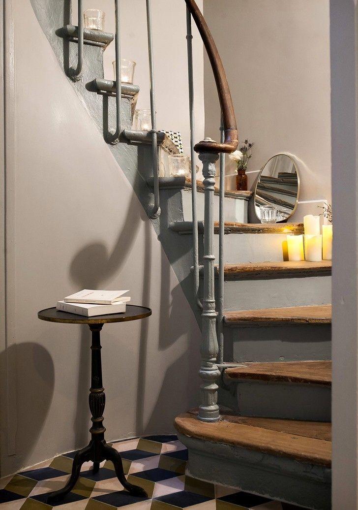 Стильный небольшой отель в Париже Hotel Henriette | Пуфик - блог о дизайне интерьера