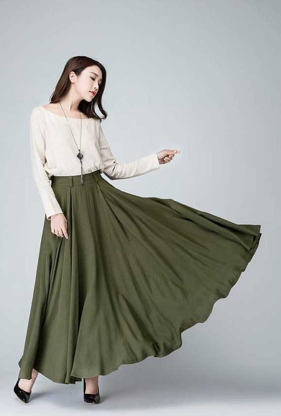 17 Best Ideas About Long Circle Skirt On Pinterest | Circle Skirts Full Midi Skirt And Red High