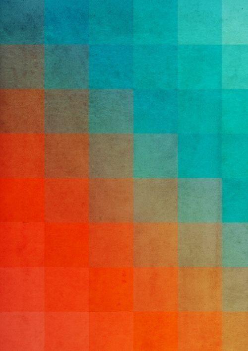 Een sterk complementair kleurcontrast