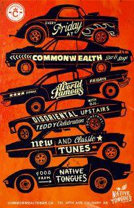 World Famous Fridays @ Commonwealth Bar & Stage | Calgary | Alberta | Canada