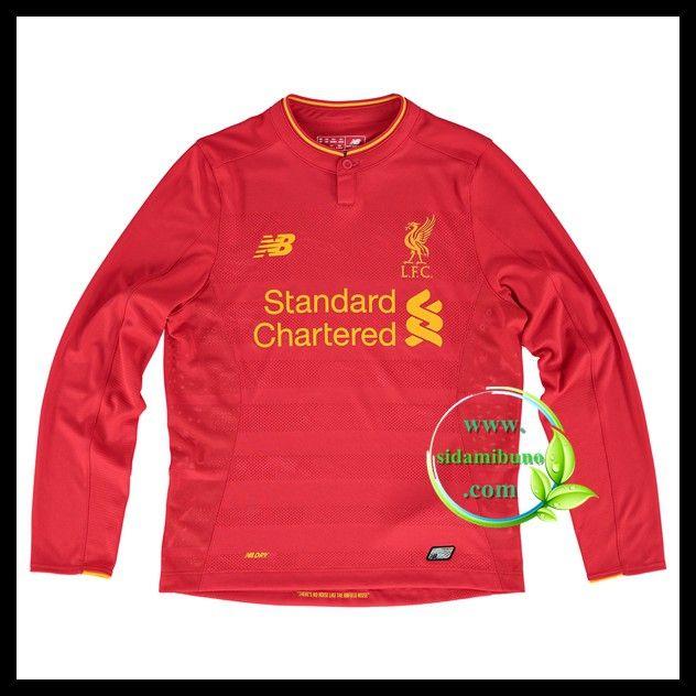 Fotballdrakter Liverpool FC Barn Langermet Hjemmedraktsett 2016-2017