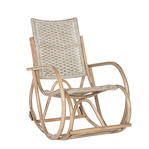 Safavieh Bali Wicker Rocking Chair