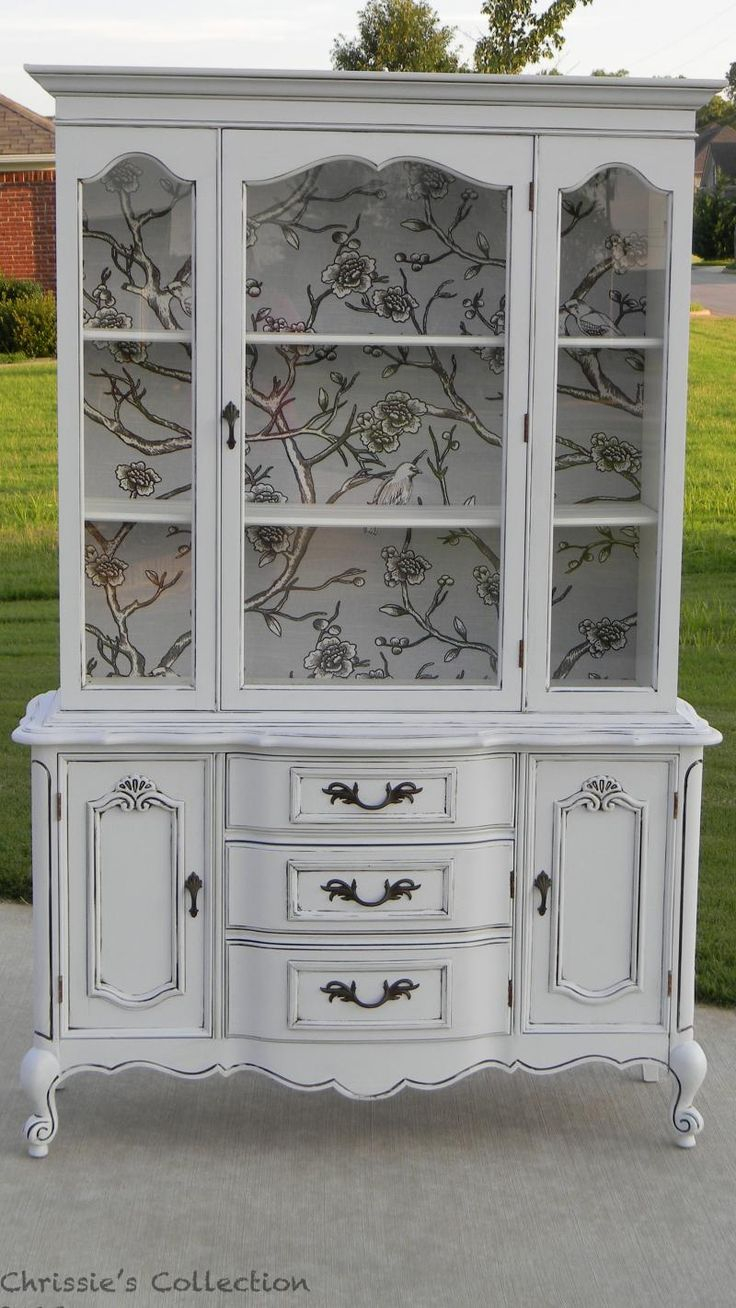 painted china cabinet                                                                                                                                                                                 More