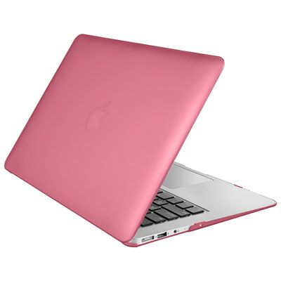 Insignia 13″ MacBook Air Hard Shell Case – Pink – Only at Best Buy