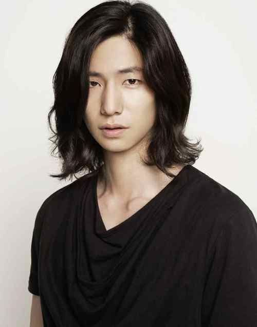 Asian Man With Long Hairstyle Asian Long Hair Asian Men Hairstyle Long Hair Styles Men