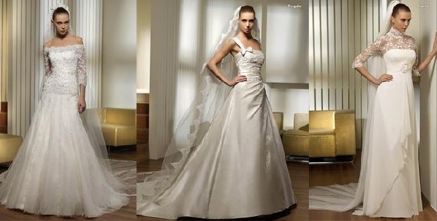 san patrick wedding gowns