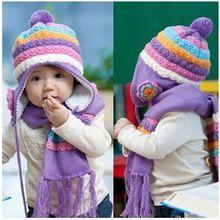 Комплект шляпа и шарф. Аленький цветочек